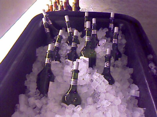 Vivanco wines chilling at twestival