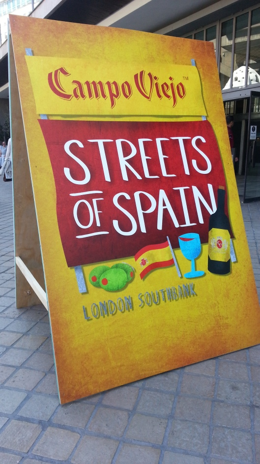 Streets of Spain Event London 2013